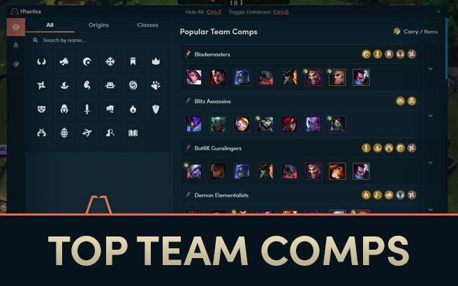 TFTactics - The ultimate TFT companion app with Item and